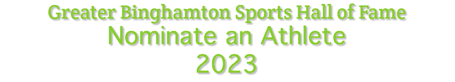 Greater Binghamton Sports Hall of Fame 